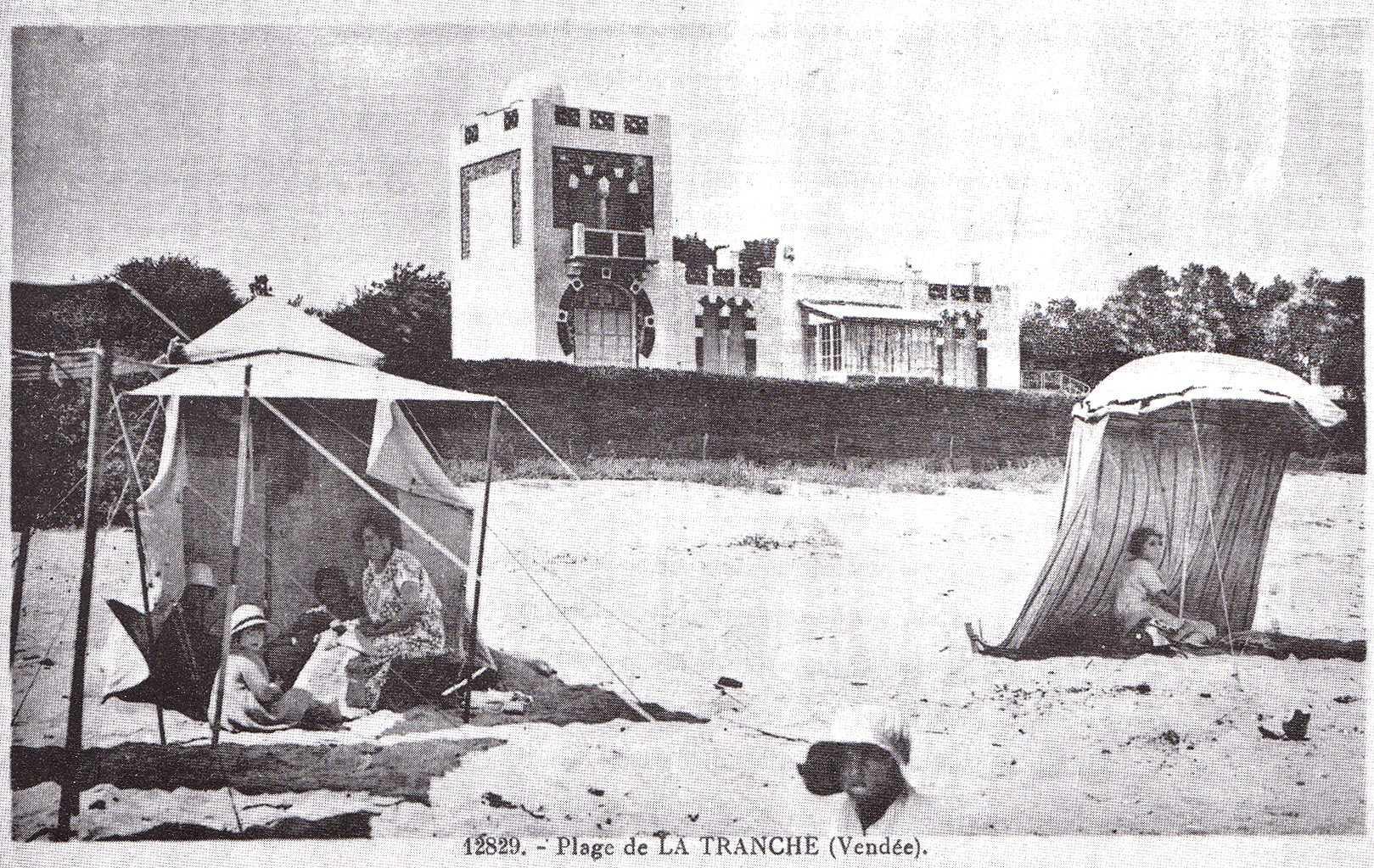 Plage de la Tranche vers 1923.jpg